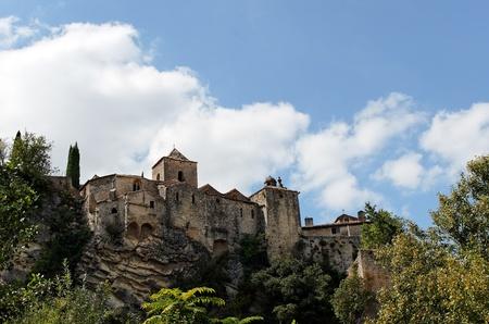 romaine: the ancient village of Vaison la Romaine in france