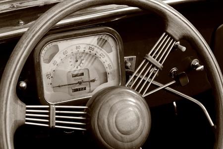dashboard car: old dashboard car