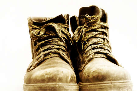safety shoes: a pair of safety shoes