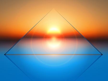 conceptual   composition of solar energy
