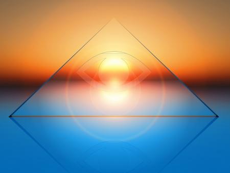 conceptual composition on spirituality