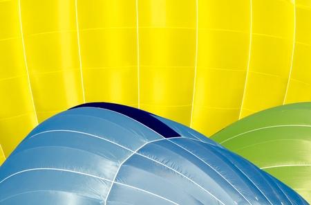 inflating: hot air balloons inflating