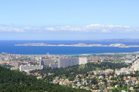 urbanized: The town of Marseille in France