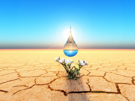 a water drop for life