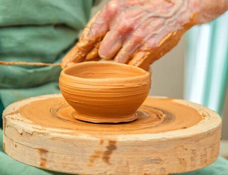 alfarero: el trabajo alfarero Foto de archivo