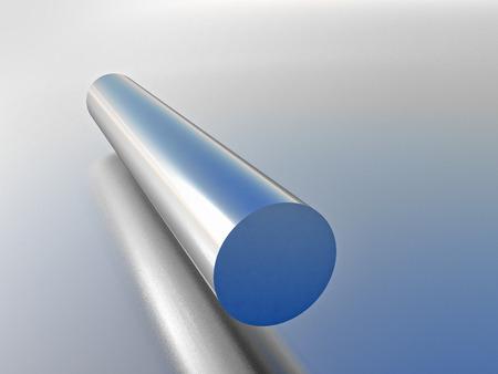 cilindro: cilindro met�lico Foto de archivo
