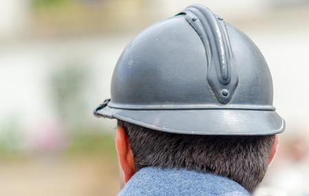 memorabilia: first war helmet