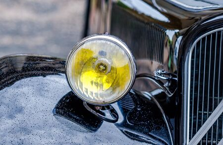 fifties: old french car from the fifties Stock Photo
