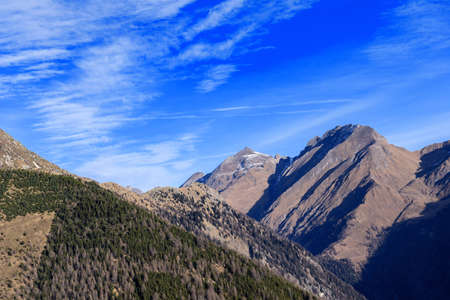 tirol: mountain landscape located in South Tirol in Italy