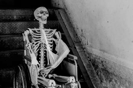 Skeleton Waiting Stock Photos And Images - 123RF