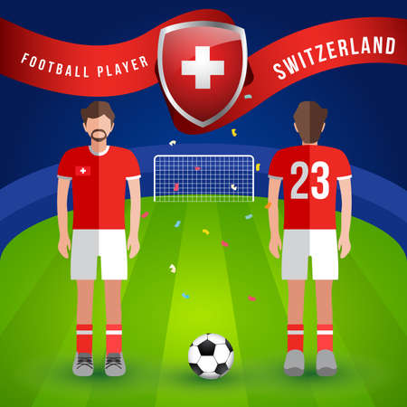 World Soccer Player : Vector Illustration Vectores