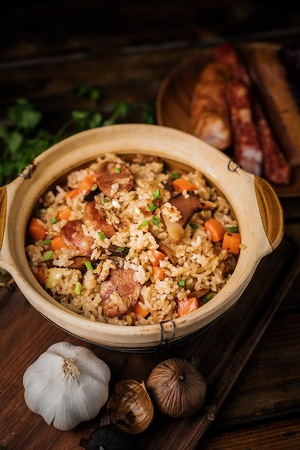 Lap mei fried rice
