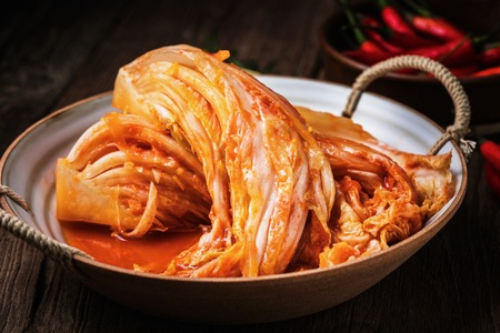 Korean cuisine - Kimchi Zdjęcie Seryjne