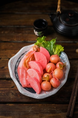 Pickled radish