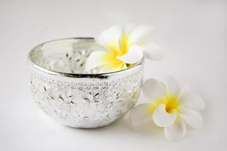 Little silver water dipper in Thai style for Songkran festival