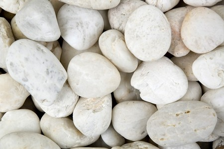 Many of white stone texture