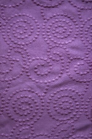 violet fabric with curve texture.