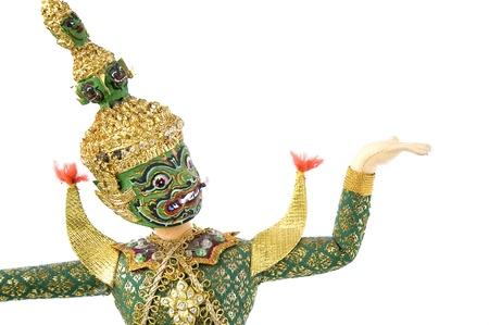 Giant costume present Khon Thai classical dance  photo