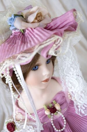 beautiful classic doll face photo