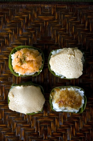 cup four: four cup of Thai native dessert