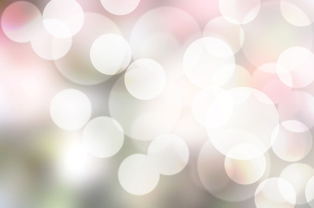 bubbles bokeh on soft pink shade background photo