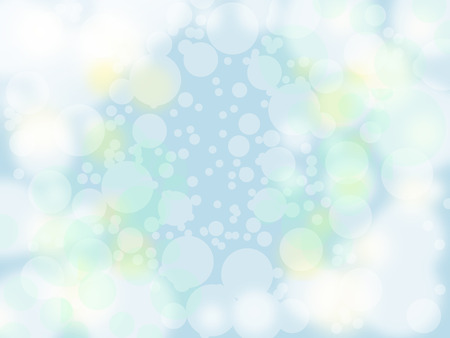bubble on pastel blue background