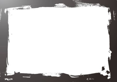 grunge style border in white background Stock Vector - 13952910