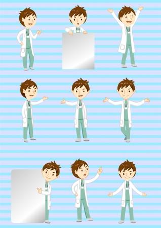 dottore stetoscopio: medico di visualizzazione