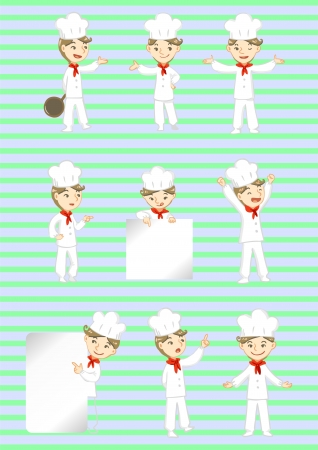 chef display Vector