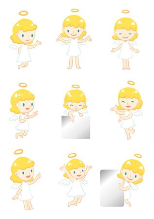 little angel display Vector