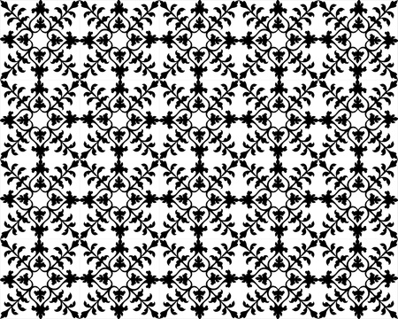 repetition: Seamless Floral Pattern Illustration