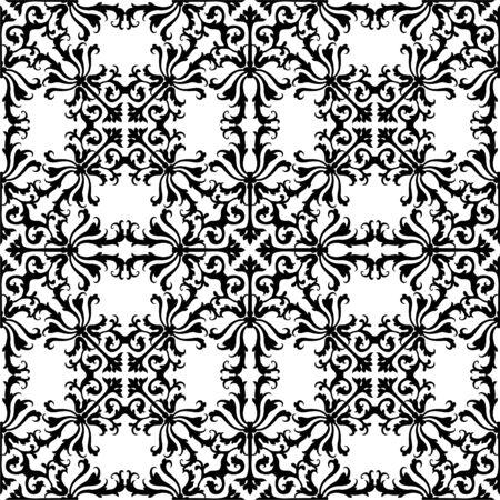 원활한 플로랄 패턴