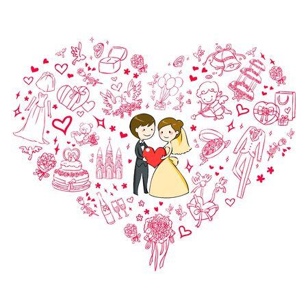wedding invitation Stock Vector - 15206233