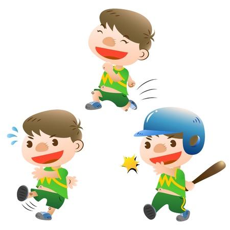 kids football: cute boy sport