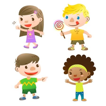 kid pointing: cute kids