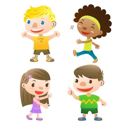 golden hair: cute kids