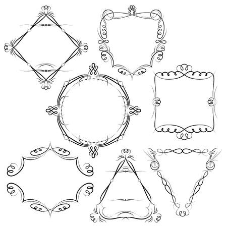 vintage frames Stock Vector - 16159879