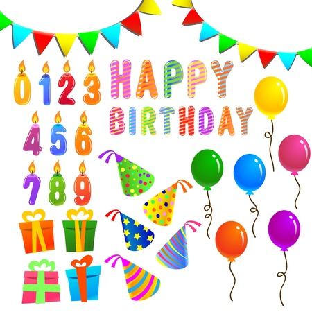 Geburtstag Set