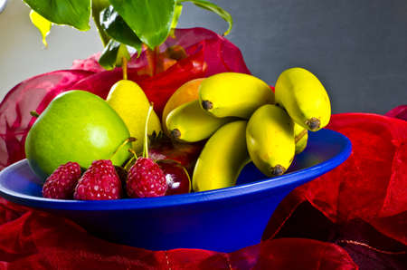 sensuous:  fruit bowls are sensuous and decorative