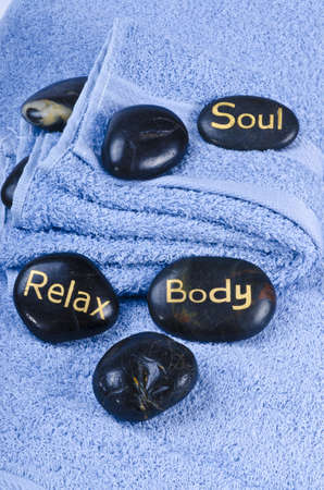 Hot Stone Massage consists of traditional massage techniques with the incroproration of therapeutic heat through warmed stones.  photo