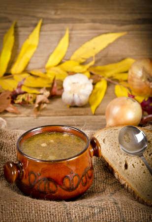 polish chicken: Pea soup (Polish Grochowka)