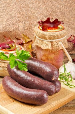 really: Krupniok really Polish blood sausage