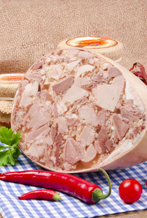brawn: Polish home-baked jellied meat