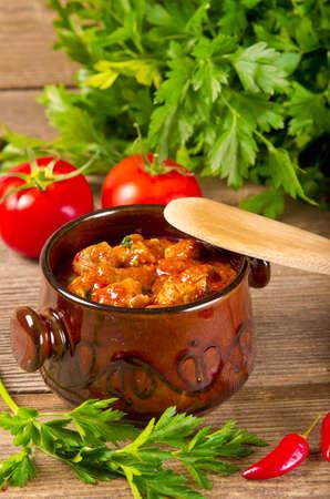 embutidos: Húngaro goulash