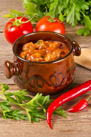 potage: Hungarian goulash