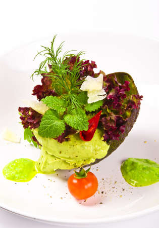 Avocado cream photo