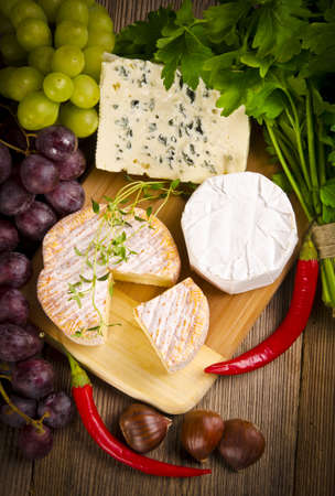 Different cheese kinds photo