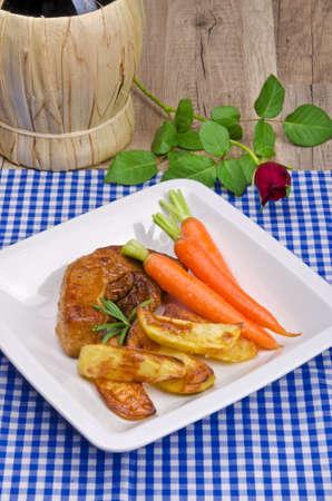 carot: baked potato