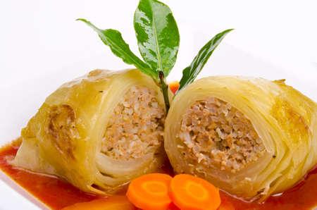 cabbage rolls Stock Photo