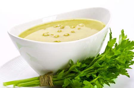 soupe aux pois Banque d'images